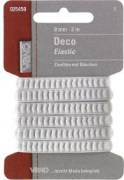 Deco Elastic SB 8mm weiß