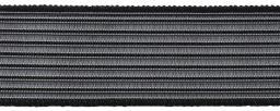 Jersey Bund Elastic 30mm schwarz