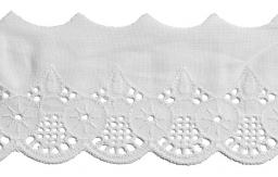 Scalloped Lace 55Mm 100%Co