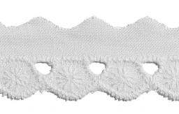 Scalloped Lace 18Mm 100%Co