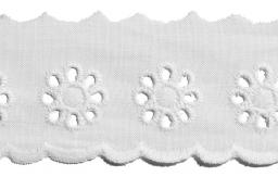 Scalloped Lace 40Mm 100%Co