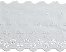 Scalloped Lace 90Mm 100%Co