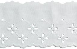Scalloped Lace 60Mm 100%Co