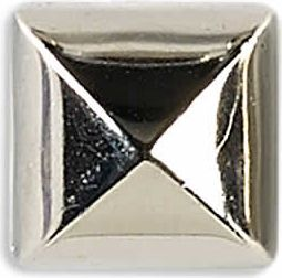 Ziernieten 12mm silber Pyramide