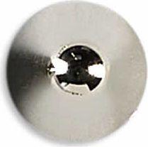 Ziernieten 10mm silber Kegel hoch