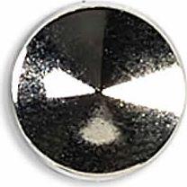 Ziernieten 10mm silber Kegel flach