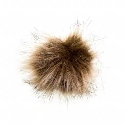 Faux Fur Pom Poms 8cm