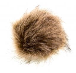 Faux Fur Pompoms 15cm