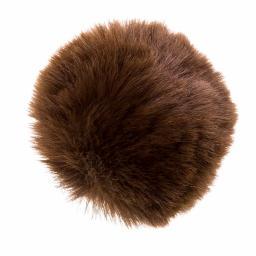 Faux Fur Pompoms 6cm