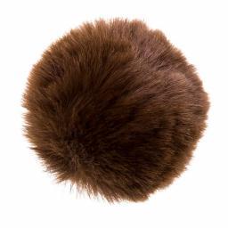 Faux Fur Pompoms 8cm