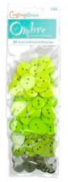 Buttons Ombre Lime Green