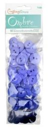 Buttons Ombre Cornflower