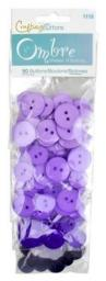 Buttons Ombre Purple