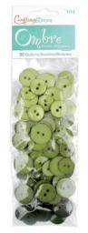Buttons Ombre Olive Green