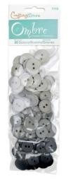 Buttons Ombre Grey