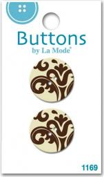 Damask Button