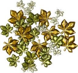 """Favorite Findings 1207 """"Gems Leaves"""""""