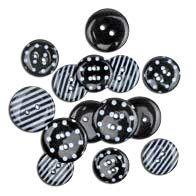 "Favorite Findings 1471 ""Black Dots & Stripes"""