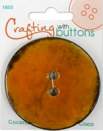 Crafting with buttons COCONUT RUST