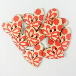 Favorite Findings 1774 Printed Heart