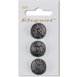 Elegant Self-Service-Button Art.664 Price Group D