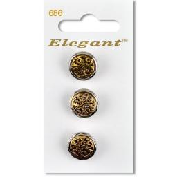 Elegant Self-Service-Button Art.686 Price Group I