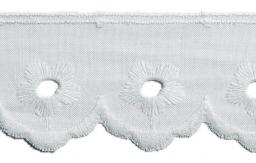 Scalloped Lace 35Mm 100%Co