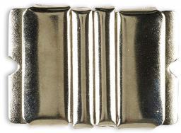 Gürtelschnalle 40mm silberfarbig