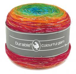 Durable Colourful glam 2x200g