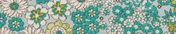 Schrägband gef.30/18 Blumen