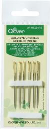 Chenille Needles Steel Silver