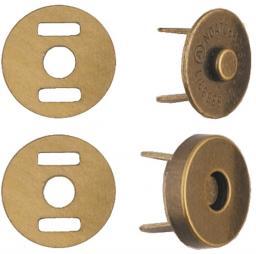 Magnetverschluss 14mm Antik
