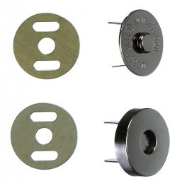 Magnetverschluss 18mm Antik
