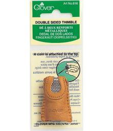 Fingerhut,doppelseitig MS/Leder
