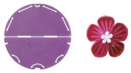 Kanzashi-Blumen-Schablone (Orchideenblüte/Große Größe)
