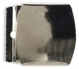 Koppelschnalle 40mm silberfarbig