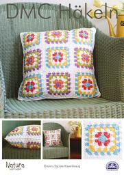 DMC Croching-Instructions Granny Square Pillowcase