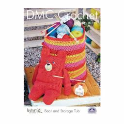 DMC Croching-Instructions Bear and Storage basket