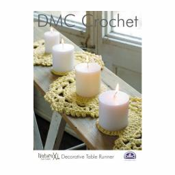 DMC Häkelanleitung Dekorativer Tischläufer