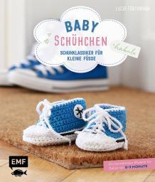 Babyschühchen häkeln Schuhklassiker für kleine Füsse