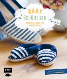 Babyschühchen stricken Schuhklassiker für kleine Füssse