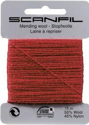 Darning Thread Wool/Pol Scanfil 10 Cards A 15M 55% Wool / 45