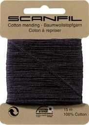Darning Thread Cotton Scanfil 10 Cards A 15M 1 Cotton