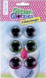 Glitzer-Glotzies Glubschaugen 6St