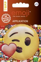 Emoji Applikation Kuss mit Herz