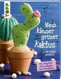 Mein kleiner grüner Kaktus ist selbst gehäkelt!