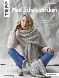 Maxi-Schals stricken