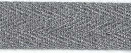 Cotton tape strong 15mm grey