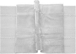 Faltenband 50 mm, 3er-Falte 1:2,5, transparent