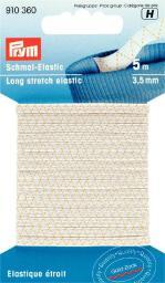 Schmal-Elastic 3,5 mm weiß
